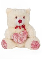 O Teddy Cute Teddy Bear With Heart - 15 Inch (Red)