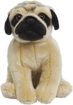 Hamleys Soft Toys Hamleys Pug Soft Toy 9.8 inch