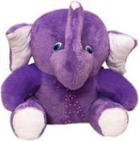 Lehar Toys Poly Elephant  - 40 Cm (Purple)