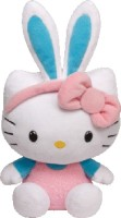 Jungly World HELLO KITTY - Teal Bunny Ears Reg  - 6 Inch (Multicolor)