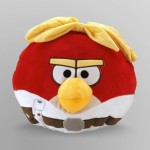 "Rovio Soft Toys Rovio Angry Birds Star Wars Luke Skywalker 12"" Plush Pillow"