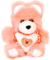 Lehar Toys Small Teddy  - 5 Cm (Orange)