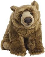 Hamleys Soft Toys Hamleys Grizelda Grizzly Bear Soft Toy 10.6 inch