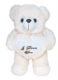Tickles Teddy With I Love You Heart  - 50 cm