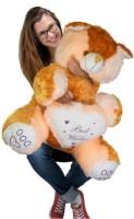Ktkashish Toys Kashish Cream & Brown Teddy Bear 22 Inch  - 22 Inch (Brown)