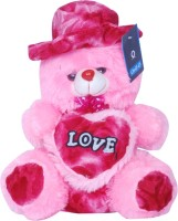 Oril Cute Teddy Bear  - 15 Inch (Pink)
