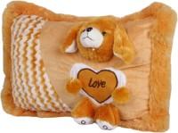 Joy Teddy Pillow - 17 Inch (Brown)