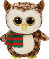 Jungly World Wise-Owl With Scarf Reg  - 6 Inch (Multicolour)