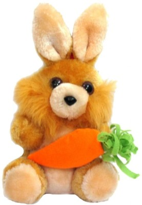 Tickles Rabbit With Carrot