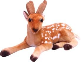 Gallibazaar Spotted Cute Brown Deer - 12 inch