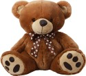 Dimpy Stuff Bear with Leather Paws - 15.74 inch: Stuffed Toy