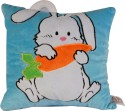 Soft Buddies Loop Playtoy - Rabbit  - 11 Inch - Blue