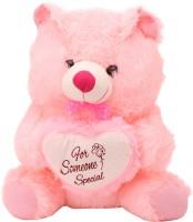 Arihant Online Pink Lovely Teddy Bear  - 14 Inch (Pink)