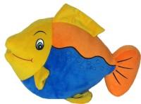 Soft Buddies Fish Orange & Blue  - 13 Inch (Multicolor)