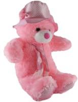 VRK Cap Teddy Bear  - 20 Inch (Pink)