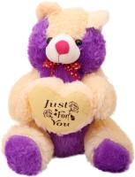 Arihant Online Purple Classic Teddy Bear  - 15 Inch (Purple)