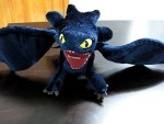 DreamWorks Soft Toys DreamWorks How To Train Your Dragon Deluxe Night Fury Toothless