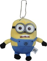 Tipi Tipi Tap Soft Minion Plush Key Chain Toy  - 6 Inch (Multicolor)