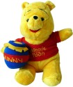 Disney Pooh With Honey Pot 10 Inch  - 10 Inch - Yellow