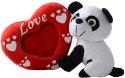 Dimpy Stuff Panda With Photo Frame  - 7.08 Inch - Multicolor