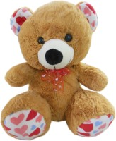 Play Toons Teddy Bear  - 12 Inch (Brown)