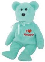 """Ty Soft Toys Ty Beanie Babies / Ba """"Minneapolis"""" Bear"""