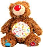 Hamleys Soft Toys Hamleys Beanie Grizzly Bear 9.05 inch