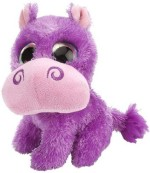 Wild Republic Soft Toys Wild Republic L'Il Sweet & Sassy Hippo Wild Grape Plush