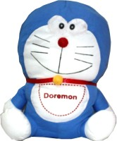 Naaz Stuffed Soft Toy Doremon Blue And White  - 30 Cm (Blue And White)