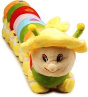 Funny Teddy Soft Caterpillar Multi-Color -  - 60 Cm (Multi-Color)