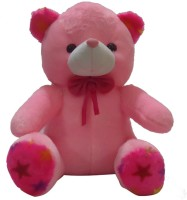 Taringo24h Bow & White Mouth Pink Teddy Bear  - 12 Inch (Pink)