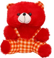 Arihant Online Red Lead Footed Teddy Bear  - 17 Inch (Red)