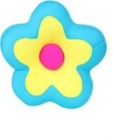 Giftwish Stuffed Toy Flower Blue Lycra Soft Toy- 34 X 34 Cm  - 9 Cm (Blue)