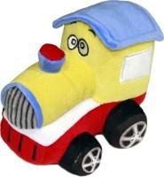 Soft Buddies Plush Toy Engine  - 4 Inch (Yellow)