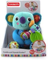 Funskool Lamaze Cuddle And Squeak Koalas  - 15 Cm (Multicolor)