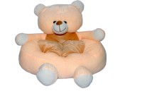 Joey Toys Baby Soft Seat Teddy  - 14 Inch (Beige)