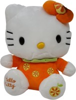 Hello Kitty Plush (orange)  - 10 Inch (Multicolor)