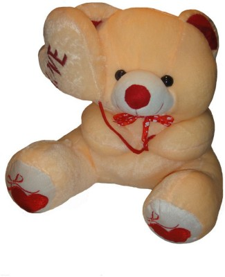 Shree Krishna Teddy Bear  - 16 Inch (Yellow, White)