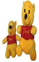 SCG Big And Chotu Pooh Combo  - 30 Cm (Yellow)