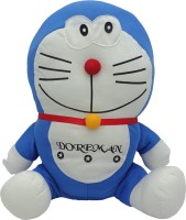Art N Hub Doraemon Soft Toy (H-25cm)  - 25 Cm (Blue)