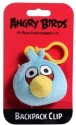 Angry Birds Back Pack Clip  - 3 Inch - Blue