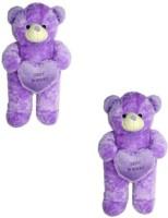 Ktkashish Toys Kashish Sweet Purple Teddy Bear Pack Of -2 27 Inch  - 27 Inch (purple)