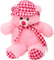 Arihant Online Pink Extravagant Teddy Bear  - 16 Inch (Pink)