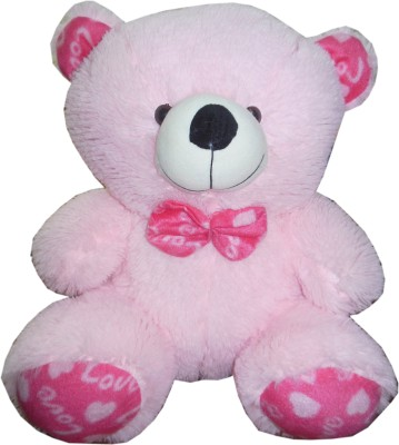 Play Toons Teddy Bear  - 18 Inch (Pink)