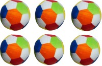 HMS Colorful Stuff Soft Ball Set Of 6 Pieces  - 4 Inch (multi)