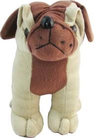 Tabby Little Cute Pug Dog - 8 Inch