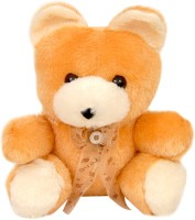Lehar Toys Poly Teddy  - 10 Cm (Brown)