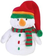 Ty Soft Toys Ty Pluffies Melton Snowman