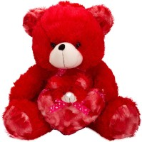 Coochie Coo Teddy Bear  - 18 Inch (Red)