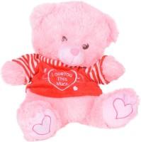 Atorakushon Cute Musical Lighting Soft Lovely Teddy Bear  - 32 Cm (Multicolor)